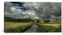 Heading to Kettlewell, Canvas Print