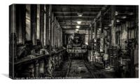 In the workshops, Canvas Print