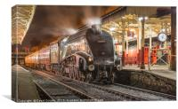 Union of South Africa 60009 at Bury Bolton Street, Canvas Print