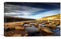 Tynemouth Outdoor Pool II, Canvas Print