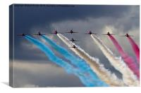 Ladies and Gentlemen, The Red Arrows, Canvas Print