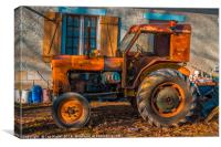 Old Reliable, Canvas Print