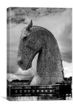 The Kelpies Number Four, Canvas Print