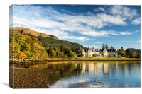 Ardgartan On The Banks Of Loch Long, Canvas Print