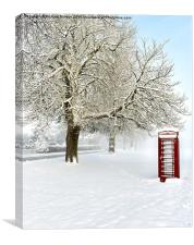 Cold Calling, Canvas Print