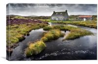 The Fisherman's Cottage, Canvas Print