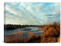 South Fork American River, Canvas Print