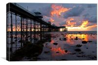 Llandudno Sunrise, Canvas Print