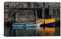 Carnlough Harbour, Canvas Print
