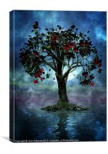 The Tree that Wept a Lake of Tears, Canvas Print