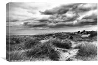 Stormy weather, Old Hunstanton, Canvas Print