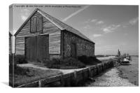 The Coal Barn, Thornham, Canvas Print
