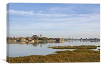 Reflections of Bosham, Canvas Print