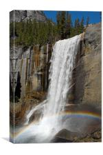 Vernal falls, Yosemite National Park, Canvas Print