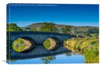Arches over the Ure, Canvas Print