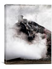 Lost in Steam, Canvas Print