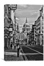 Fleet Street, Canvas Print