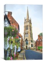 Picturesque Louth, Canvas Print