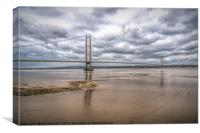 Across The Humber, Canvas Print