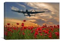 Never forget, Canvas Print