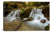 Falling Water of Nature, Canvas Print