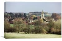 Tranquil Eppingham in Rutland, Canvas Print
