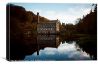Classic Gibson Mill, Canvas Print