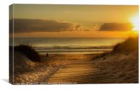 Lovely morning in Spain, Canvas Print