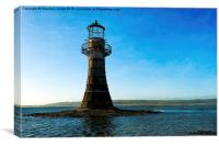 Whiteford Lighthouse, Canvas Print