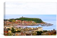 Scarborough , Canvas Print
