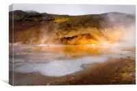 Hot Spring, Canvas Print