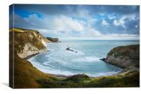 Jurassic Coast, Canvas Print