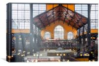 The Great Market Hall, Canvas Print