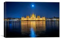Parliament building, Canvas Print