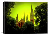 St Augustine Church , Canvas Print