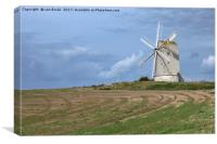 Ashcombe Mill, Lewes, Canvas Print