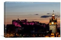 Balmoral Sunset, Canvas Print