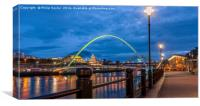 The Magical Quayside.........., Canvas Print