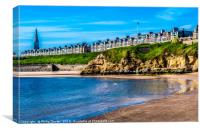 Colours of Cullercoats..........., Canvas Print