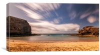 Playa de Papagayo, Canvas Print