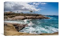 Capturing Costa Adeje Bay, Canvas Print