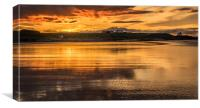 Beach Beauty of Bamburgh, Canvas Print