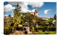The Monastery at Valldemossa , Canvas Print