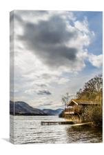 Portrait of the Duke of Portland Boathouse , Canvas Print