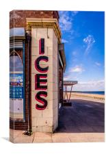Anyone for Ice Cream ?, Canvas Print