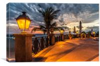 Sunset Boulevard, Canvas Print