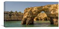 Coast and Caves Albufeira, Canvas Print