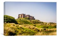 Bamburgh Castle another view, Canvas Print