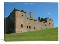 Linlithgow  Palace in the summer, Canvas Print