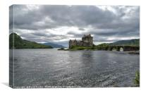 Eilean Donan Castle, the Highlands , Scotland, Canvas Print